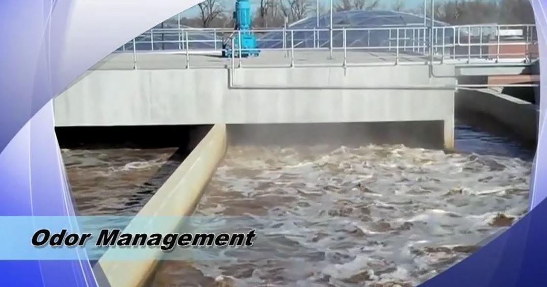 odor detection aeration basin